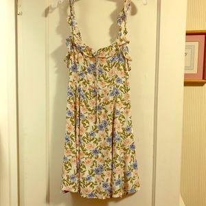 ASTR floral mini dress